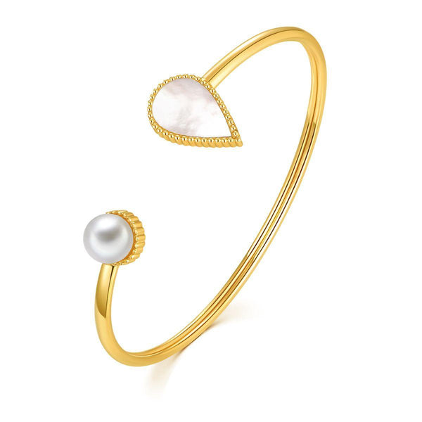 Drop / Bangle Gold - minimalistae