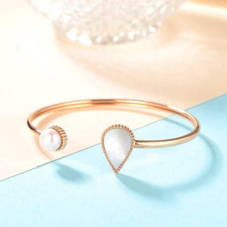 Drop / Bangle Rose Gold - minimalistae