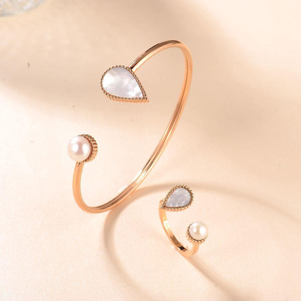 Drop / Bangle Rose Gold - MINIMALIST