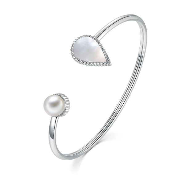 Drop / Bangle Silver - minimalistae