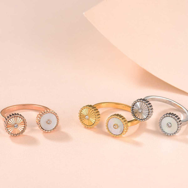 Kanz / Ring Pearl Silver
