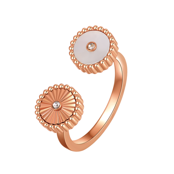 Kanz / Ring Pearl Rose Gold