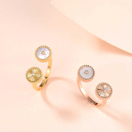 Kanz / Ring Pearl Gold