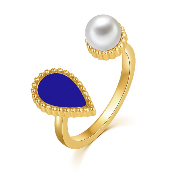 Sapphire Drop / Ring Gold