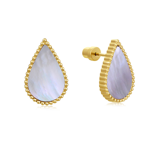 Pearl Drop / Earring Gold