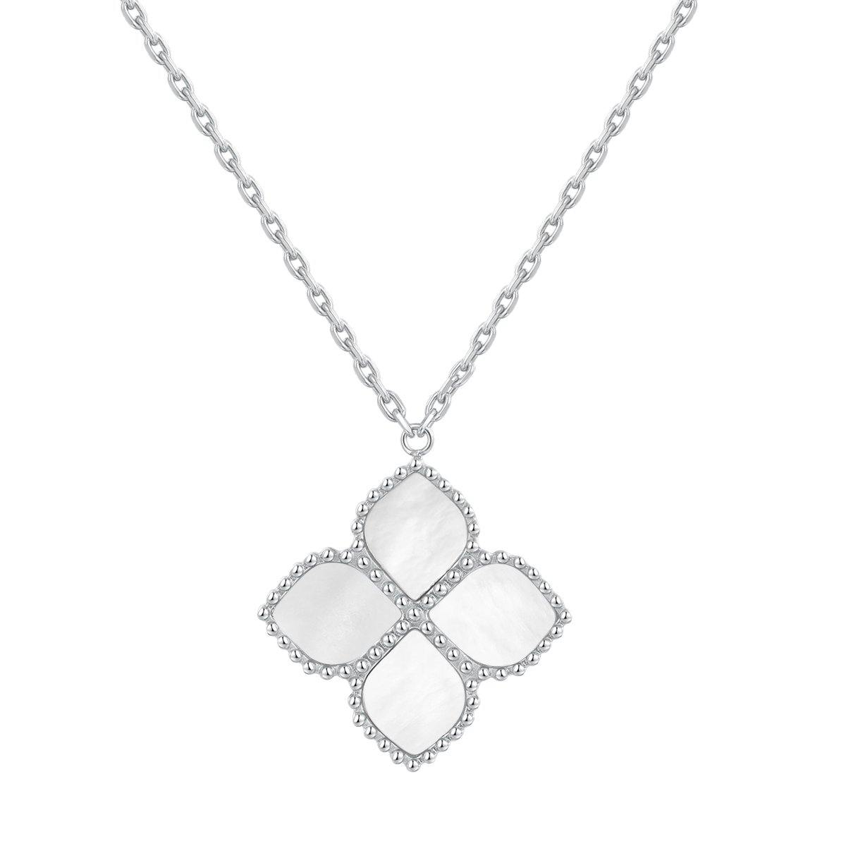Joory / Necklace Pearl Silver - MINIMALIST