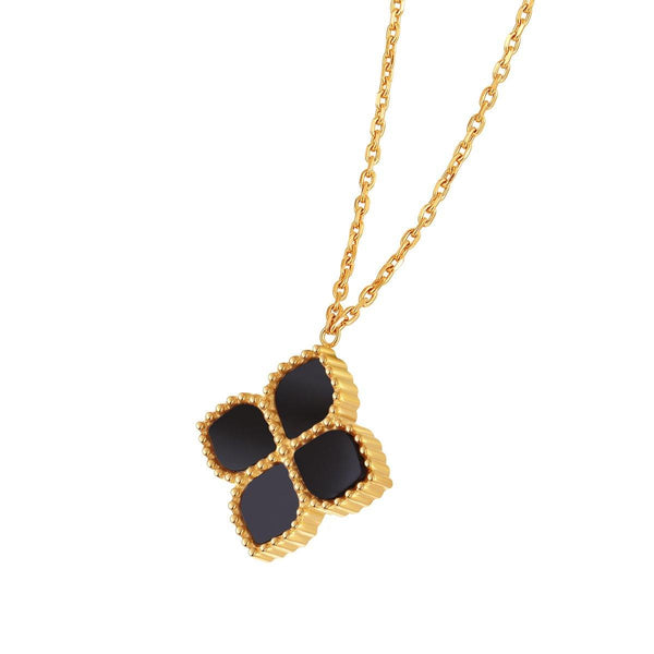 Joory / Necklace Black Gold - MINIMALIST