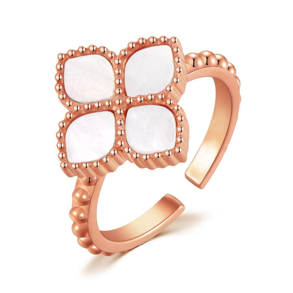 Joory / Ring Pearl Rose Gold - MINIMALIST