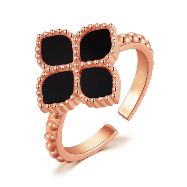 Joory / Ring Black Rose Gold - MINIMALIST