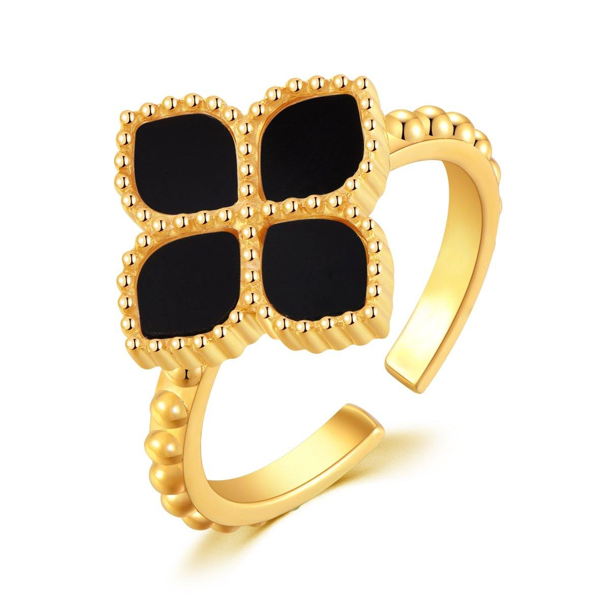 Joory / Ring Black Gold