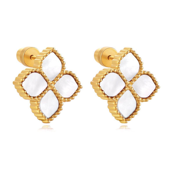 Joory / Earrings Pearl Gold - MINIMALIST
