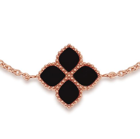 Joory / Bracelet Black Rose Gold