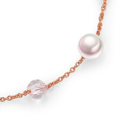Sphere / Pearl Rose Gold Crystal - minimalistae