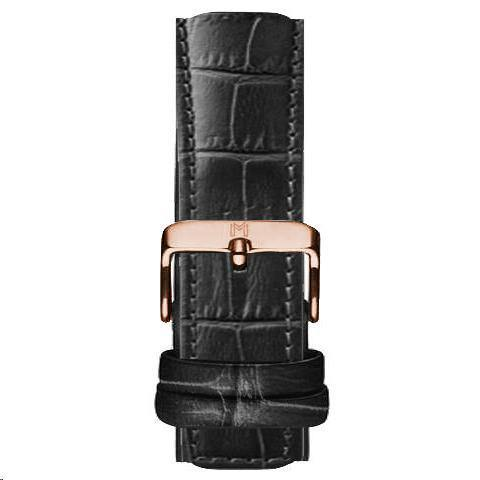 Royal Strap / Alligator Leather Rose Gold - MINIMALIST