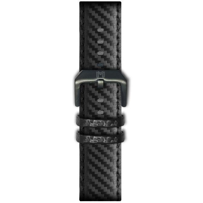 Flag-Watch Strap / Carbon Leather - minimalistae
