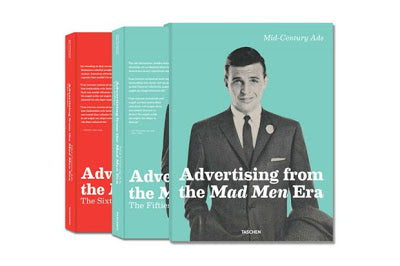 LIBROS PARA REYES: ADVERTISING FROM THE MAD MEN ERA