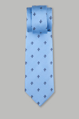 Corbata Collection Flor de Lis 90