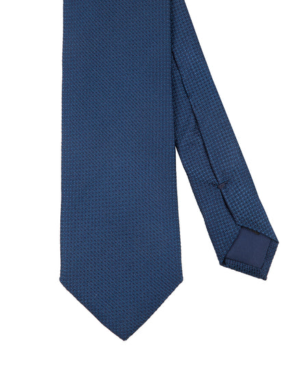 Corbata Collection Falso Liso Azul Medio
