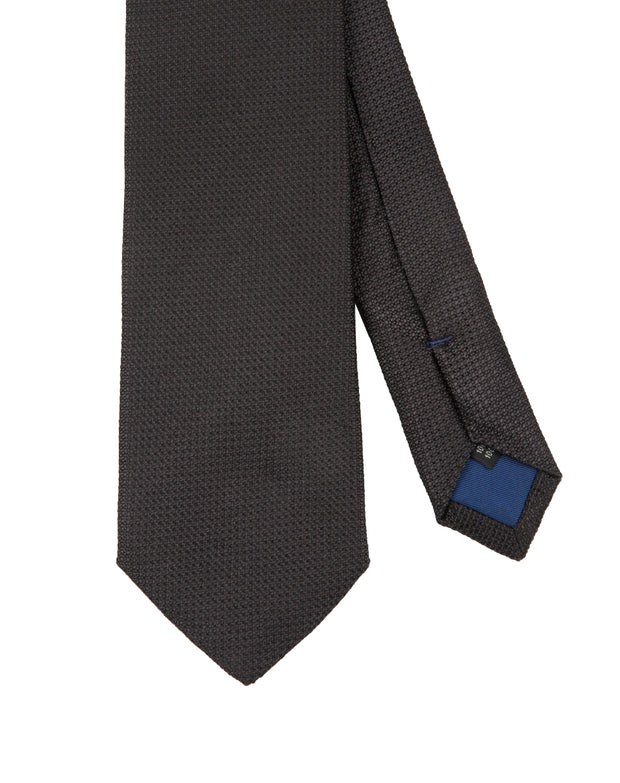 Corbata Collection Falso Liso Negro