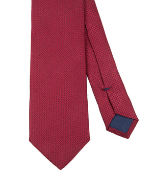Corbata Collection Falso Liso Rojo