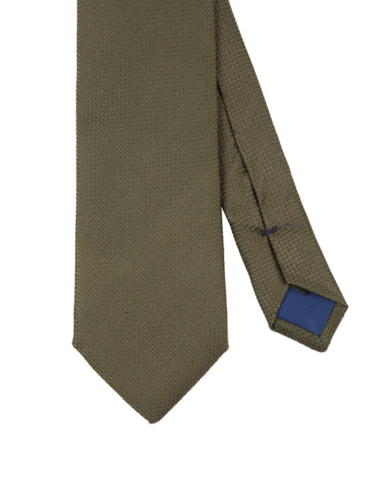 Corbata Collection Falso Liso Verde