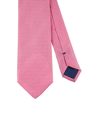 Corbata Collection Falso Liso Rosa