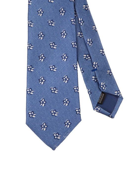 Corbata Collection Flor Blanca