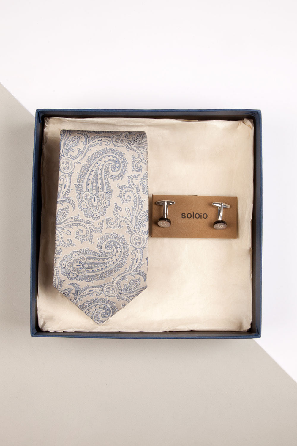GOLD BOX PAISLEY BEIGE