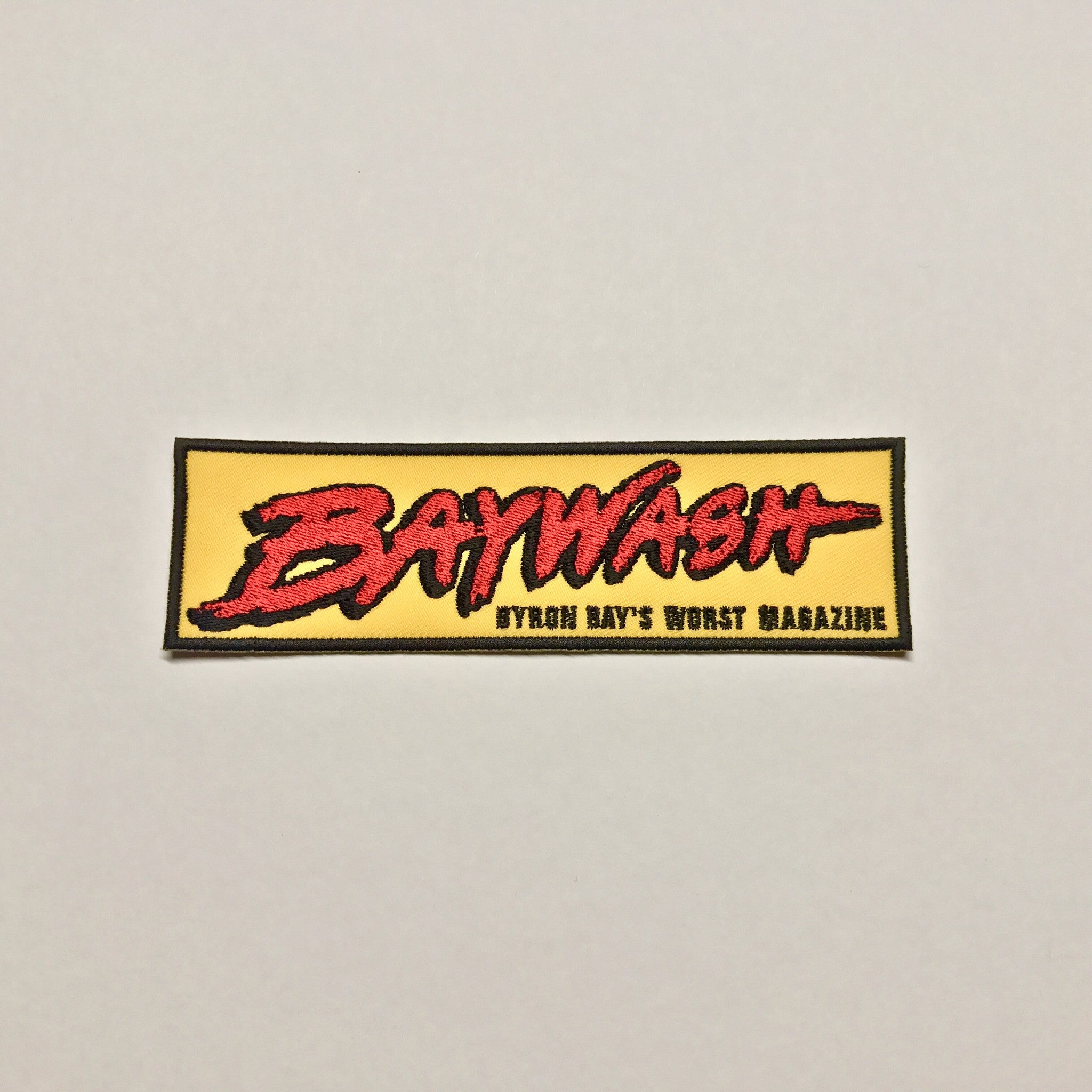 Classic Yellow BAYWASH PATCH