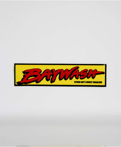 BAYWASH STICKER PACK