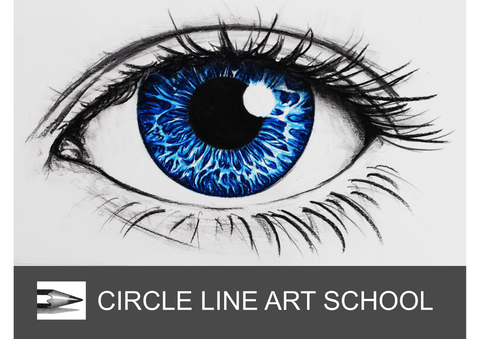 Digital Download: Realistic Eye in Colour: Episode 219: Circle Line Art School