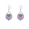 Silver Plated Dangler Earrings