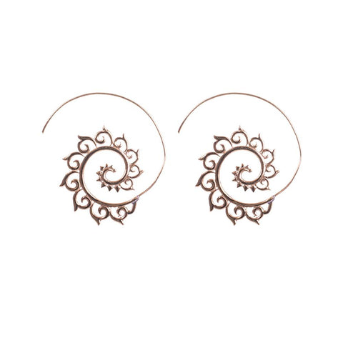 Subtle and aura earrings