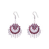 Red Stone Gorgeous Earrings