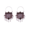 Brown Kemp Pattern Style Earrings