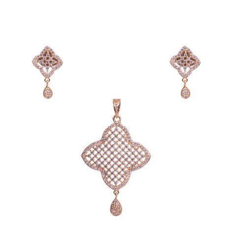 Window of Diamonds pendant set
