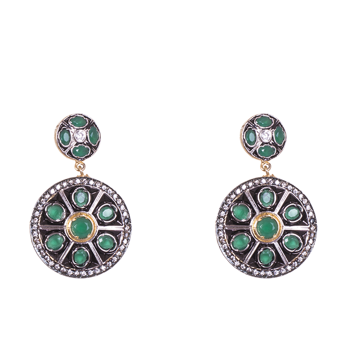 Victorian Polished Party Wear Earrings