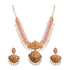 Goddess gold necklace set