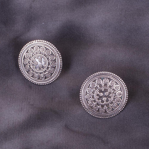Antique 92.5 silver earrings