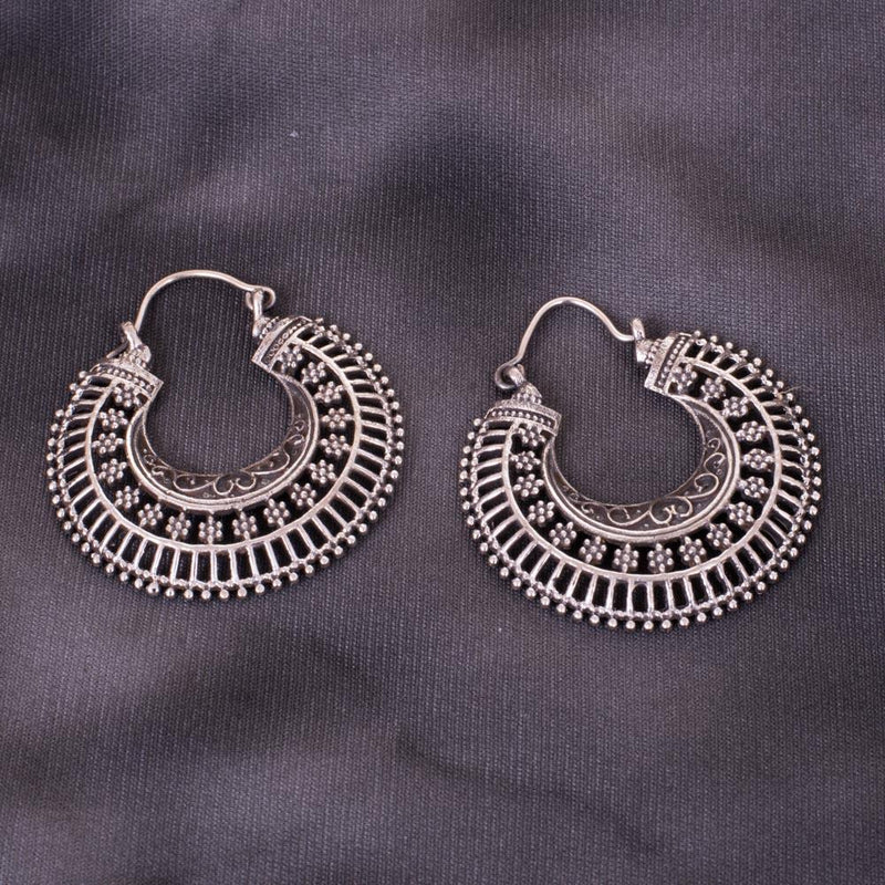 Charming And Unique 92.5 Silver Earrings