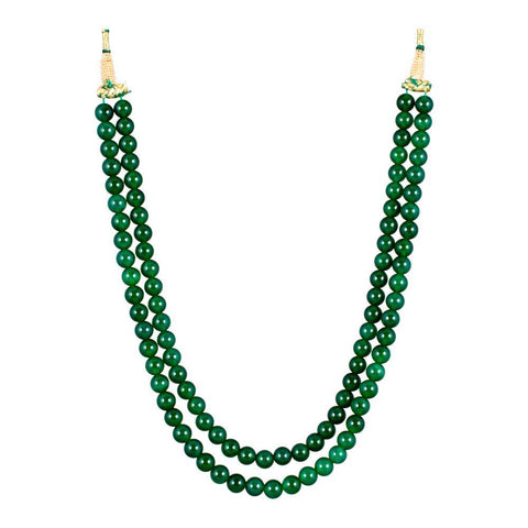 Lovely Emerald beded Necklace