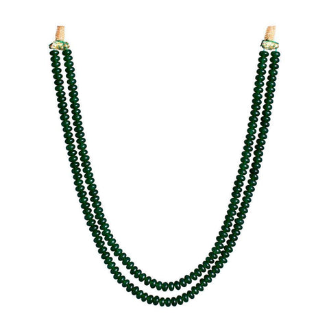 Green Beaded Charming Necklace