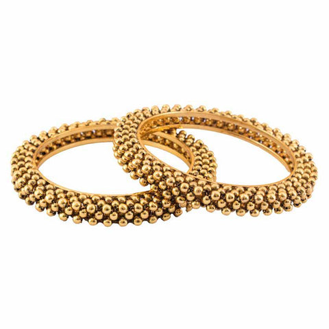 Delicate gold plated bangles