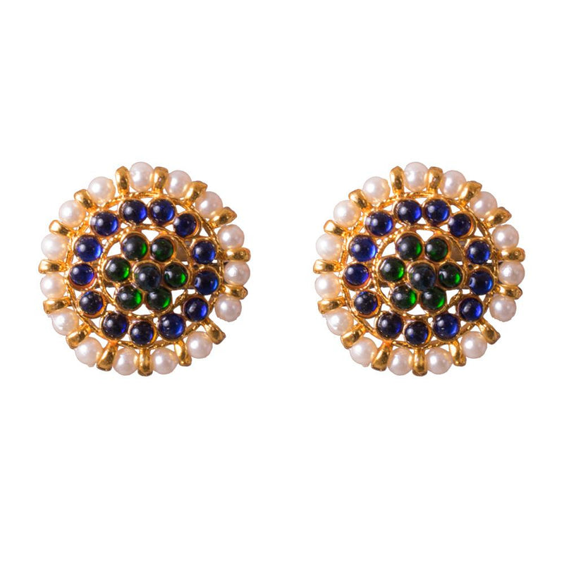 Traditional statement earrings