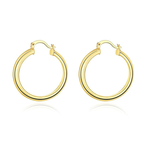 Classic hoop earrings - mystic collections