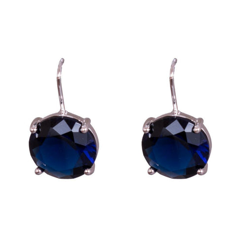 Bright and blue earrings