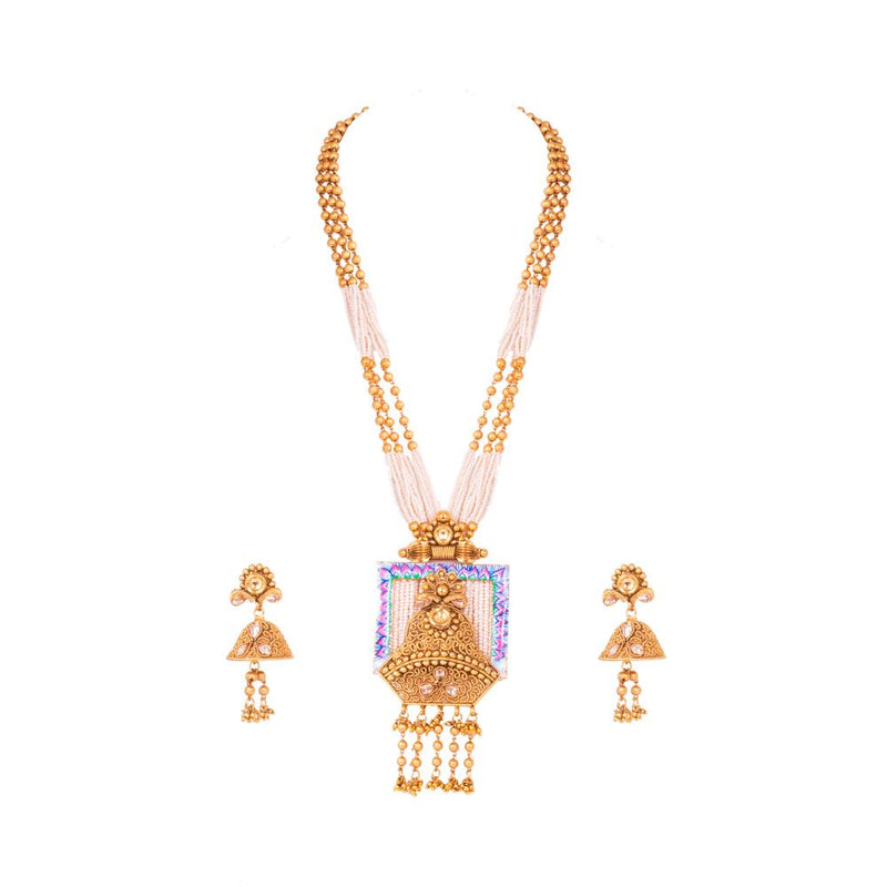 Precious And Luxury Antique Necklace Set