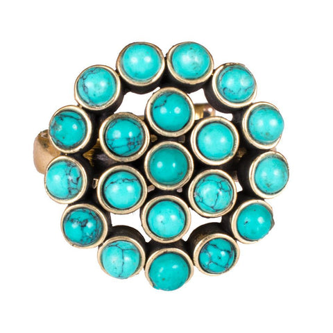 Turquoise Style Finger Ring