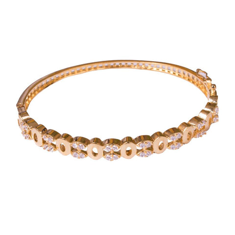 Embellished American diamond bangle