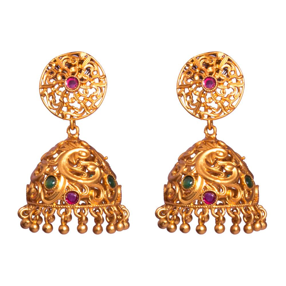 Tradition of jhumkas